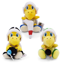 3 pcs/lot  Anime Super Mario Bros Hammer Bro. Koopa Troopa Peluche Doll Plush Soft Stuffed Baby Toy Christmas Gift