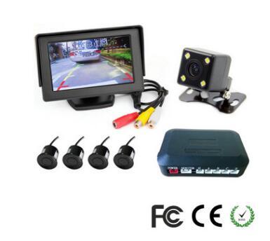 Moniteur automatique de caméra inverse 4.3