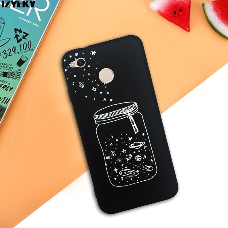 Izyeky Case For Xiaomi Redmi Note 4x Moon Space Animal Bear Cat Silicone Phone Back Cover For Redmi Note 4 X Coque Redmi Note 4 Cellphones & Telecommunications