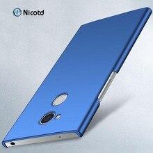 Ultra Slim Matte case For Cover Sony Xperia L2 L 2 5.5 inch Hard PC Cases sfor L3 L1 1 Case Back Capas Funda