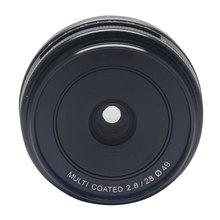 Venidice Meike MK-28-2.8 28mm f/2.8 fixed manual focus lens For 4/3 systems Mirrorless cameras Olympus Em1 Panasonic GF5/6/7