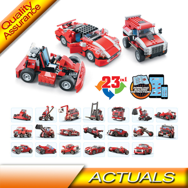 23 In 1 Decool 3110 Compatible With Lego Creator 5867 Technic