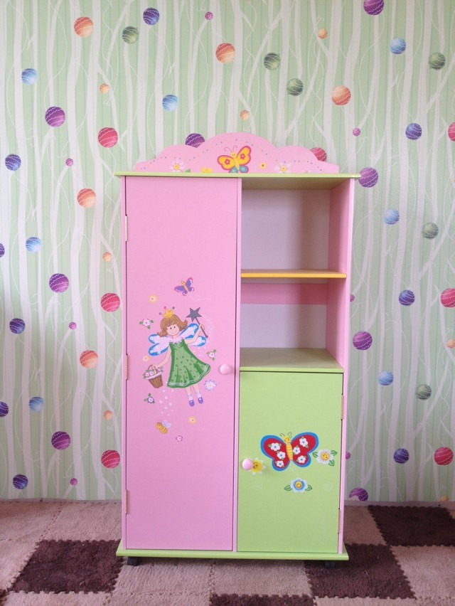 Trade new nontoxic wooden toys for children wardrobe storage cabinet ...