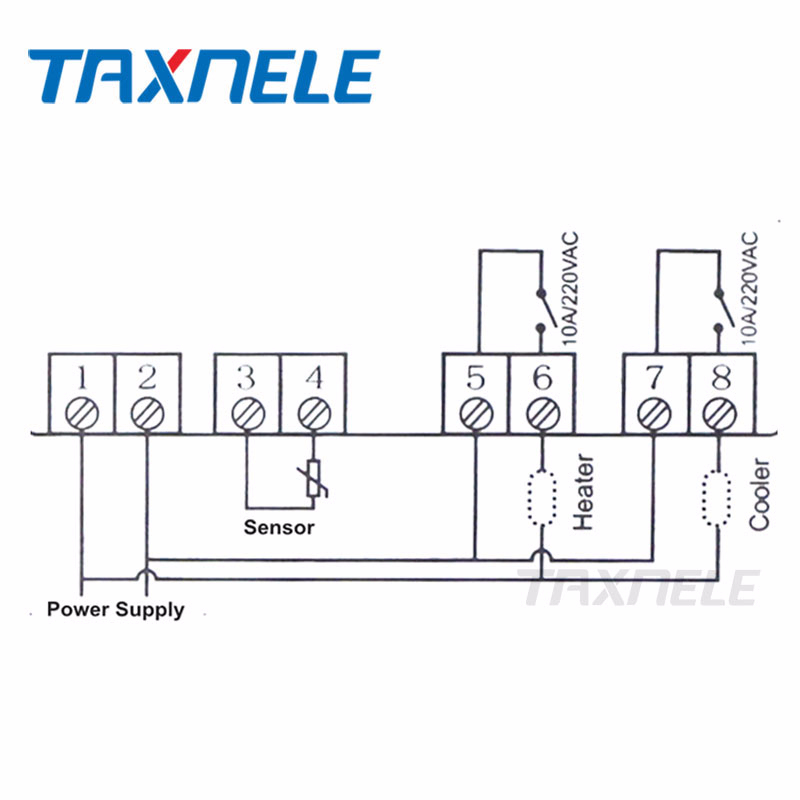 stc 1000 wiring diagram for incubator digital temperature controller stc 1000 220v 12v two relay  stc 1000 220v 12v two relay