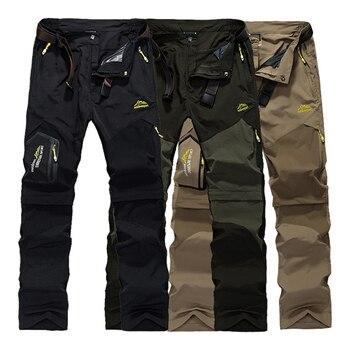 цена Men New Summer Hiking Trekking Fish Camp Climb Quick Dry Trousers Plus Size Travel Sport Oversized Waterproof Fast Dry Pant Belt онлайн в 2017 году