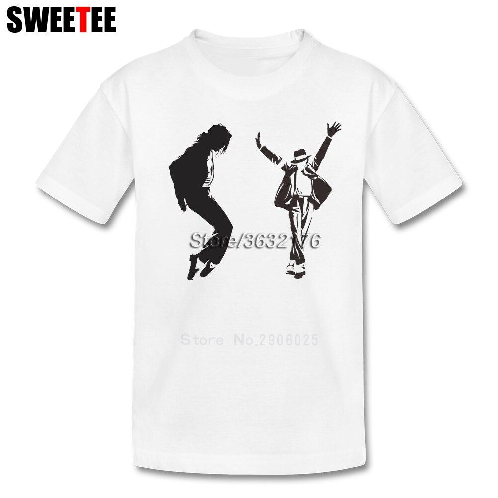 Michael Jackson T Shirt Baby Cotton Short Sleeve O Neck Tshirt children's Tops 2018 Rock N Roll Star T-shirt For Boys Girls