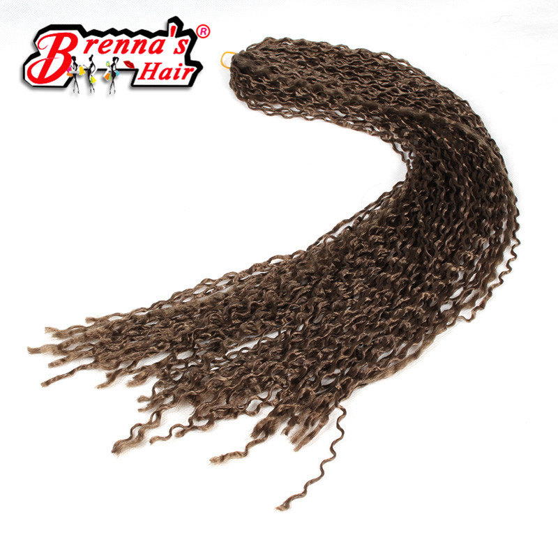Eunice Hair Synthetic braiding micro crochet braids hair extension knot zizi blonde 613 color freetress twist 24inch 3PCS