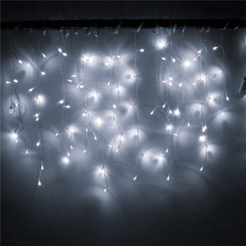 Lichterketten Weihnachtsaußendekoration 4m hängen 0.4-0.6m - Partyartikel und Dekoration - Foto 5
