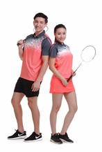 New Sportswear Quick Dry breathable badminton sets , Women/Men table tennis clothes training Exercise Tennis sportswear 1009