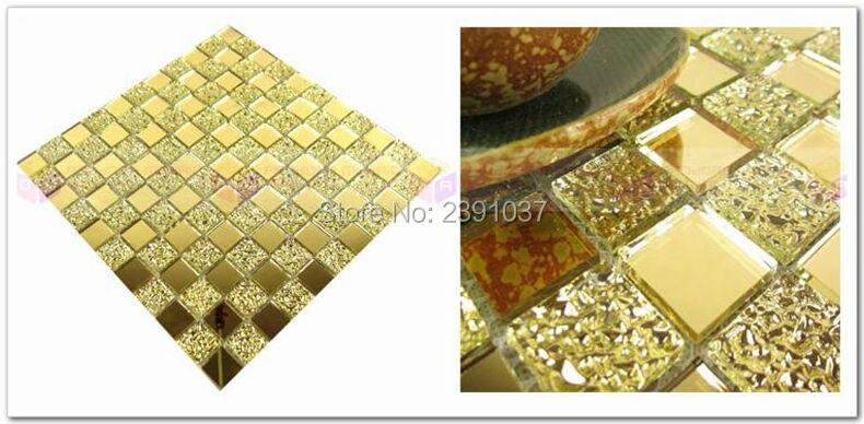 Brand New 1box 22sheets Glass Mosaic Crystal Glass 3d