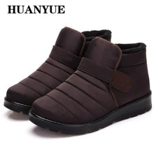 цена Men Ankle Boots Winter With Fur 2019 Warm Snow Boots Men Waterproof Winter Boots Work Shoes Men Footwear Rubber Outdoor Shoes онлайн в 2017 году