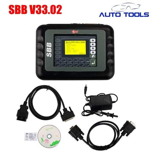 For silca SBB Key Programmer V33.02 Professional Auto Key Programmer v33 car key cloner with High Quality Fast Shipping