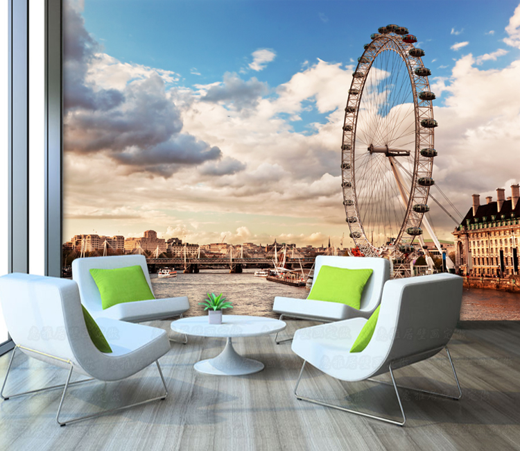 Photo Wallpaper London 3D Large Wall Painting Living Room Bedroom Sofa TV  Background Wallpaper Restaurant Lounge Bar Mural In Wallpapers From Home ... Part 58