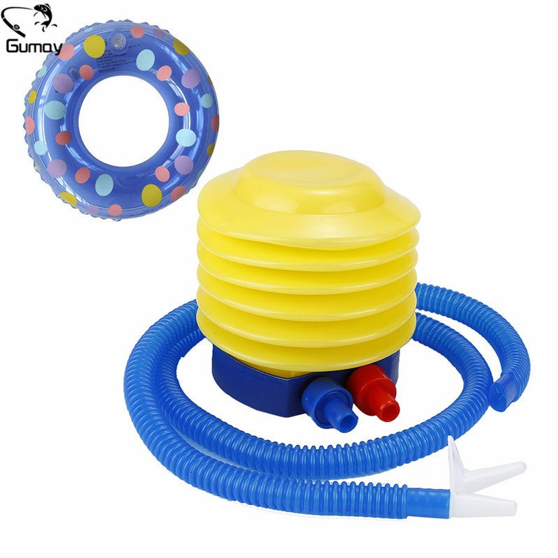 Gumay 1pc High Quality Swimming Ring Inflator Foot Ball Air Inflatable Balloons for Swimming Rings Event Pool Accessories