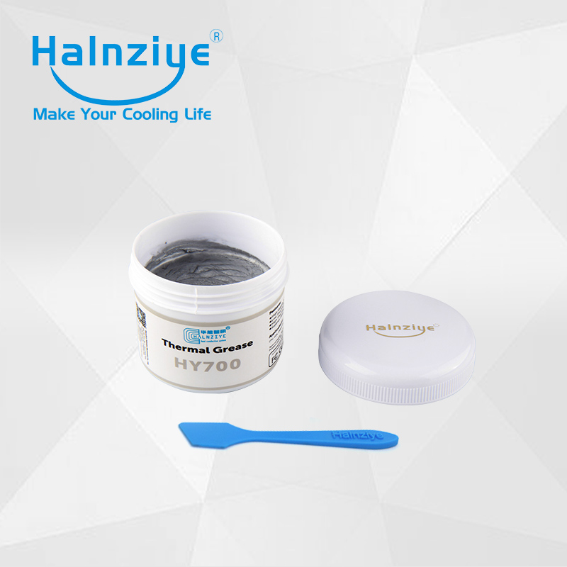 aluminum&copper heat sink silver thermal conductive paste compound grease 100g can with CE&RoHS&REACH 5pcs lot free shipping high quality heat sink nano thermal conduction paste compound grease hy810 with ce
