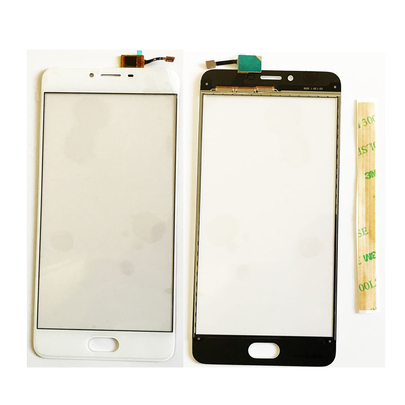 5.5 inch טלפון נייד לוח מגע עבור Meizu U20 U 20 חזית זכוכית Digitizer מסך מגע פנל חיישן + 3 M דבק