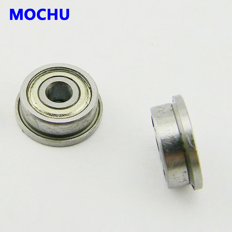 10 PCS F634zz 4x16x5 mm Flange Metal Double Shielded Ball Bearing Bearings