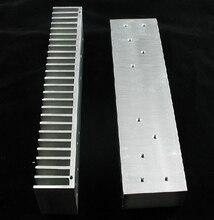2 szt. Pełny aluminiowy radiator E do L12 2 płyta wzmacniacza zasilania LJM