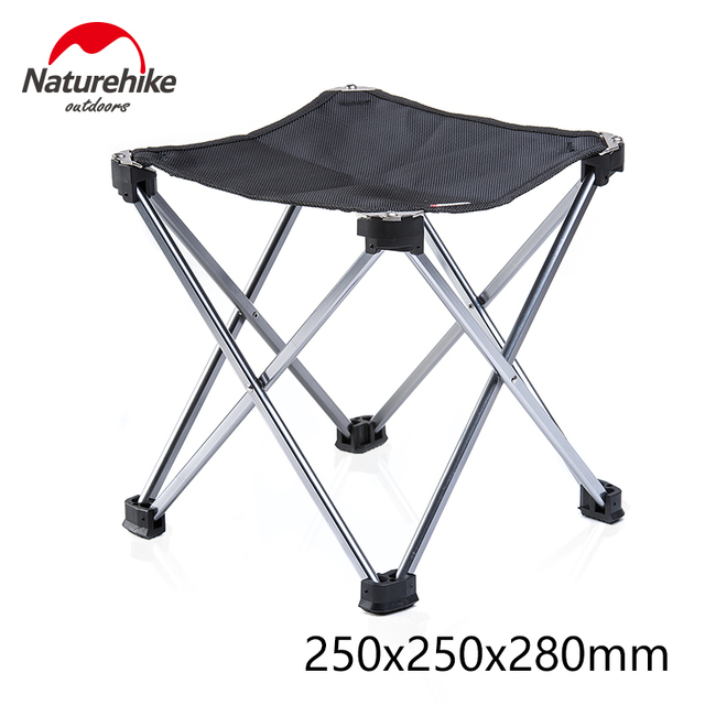 Naturehike Stool Folding Barbecue Chair Ultralight Portable folding Chairs Camping Hiking outdoor backrest Stool 1