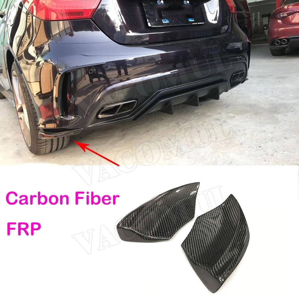 A Class Carbon Fiber Rear Lip Splitters Spoiler For