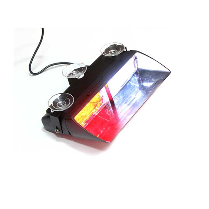 16 LED Warning Strobe Flash Emergency Firemen  Poice Light White  Blue Amber Red  Automobile Dash Emergency DRL Light