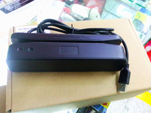 USB Universal Magnetic Card Barcode Reader Stripe Bidirectional Track 2