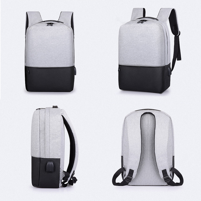 Fashion Anti-Theft USB Charging Oxford Backpack