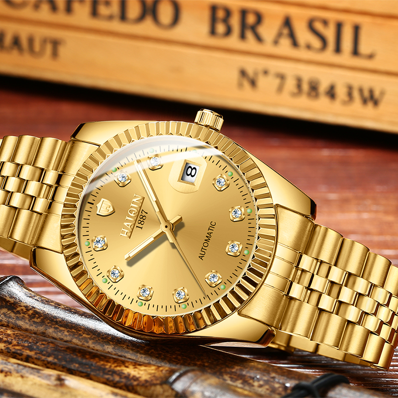 armbanduhr Masculino gold neueste
