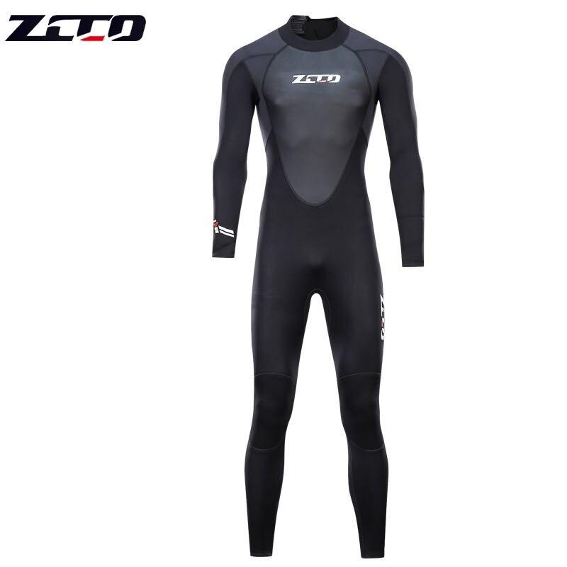 Nouvelle combinaison de plongée sous-marine hommes 3mm combinaison de plongée néoprène combinaison de natation Surf Triathlon combinaison humide maillot de bain combinaison complète - 2