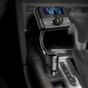 Image 3 - BT75S Bluetooth FM Transmitter YES/NO voice control Handsfree Call Car Kit with MP3 Player Dual USB Quick charge 3.0 Car Charger