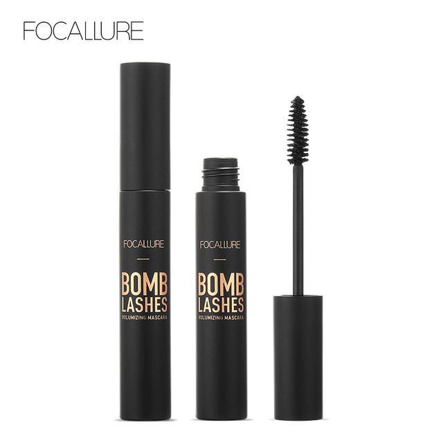 FOCALLURE Professional 3D Black Volume Curling Makeup Waterproof Thick Lengthening Eyes Beauty Makeup