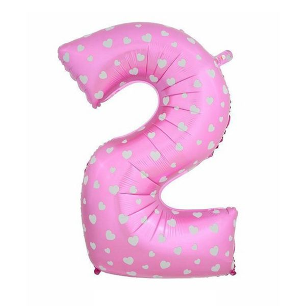 32 Inch Giant Outdoor Toy Inflated Numbers Bloon Foil Balloons Digit Air Balloons Birthday Wedding Party Toy Dressed 2 Rich In Poetic And Pictorial Splendor