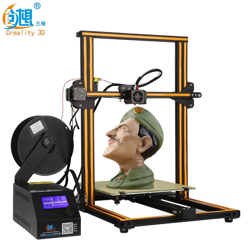 Max Customized Level 3D Printer Upgrade Creality CR-10s Auto Resume Print after Power off/Filament Monitoring Alarm Protection flsun 3d printer big pulley kossel 3d printer with one roll filament sd card fast shipping