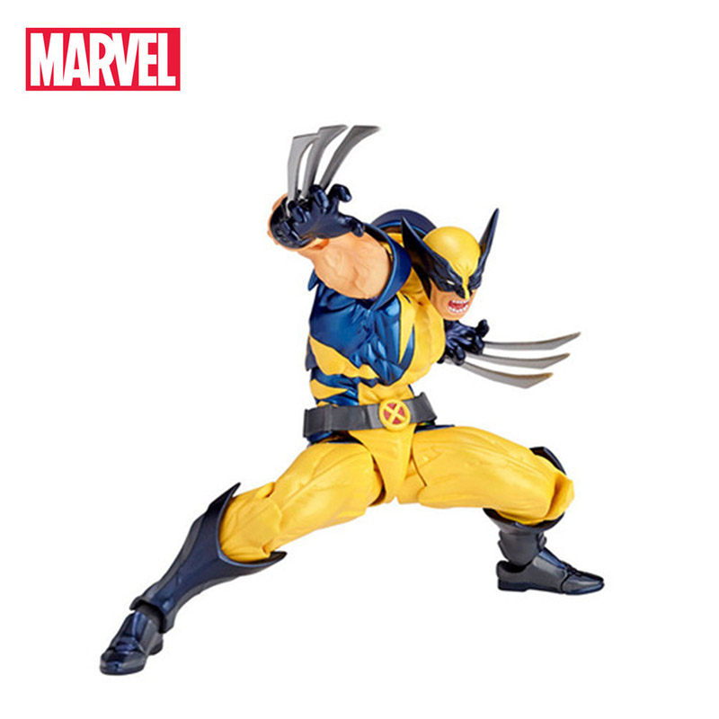 Marvel Hasbro The Avengers Wolverine Movie&TV Toy PVC Action Figure Collection Model Doll For Kids Christmas New Year's Gifts цена