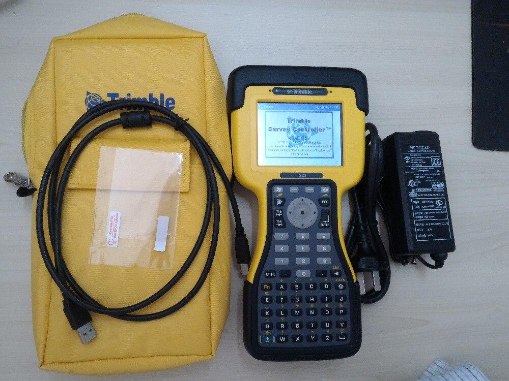 Trimble usado TSC2 Controlador de Dados do computador Portátil w/12.50 SC software Grátis para Federação Russa por Ar Especial