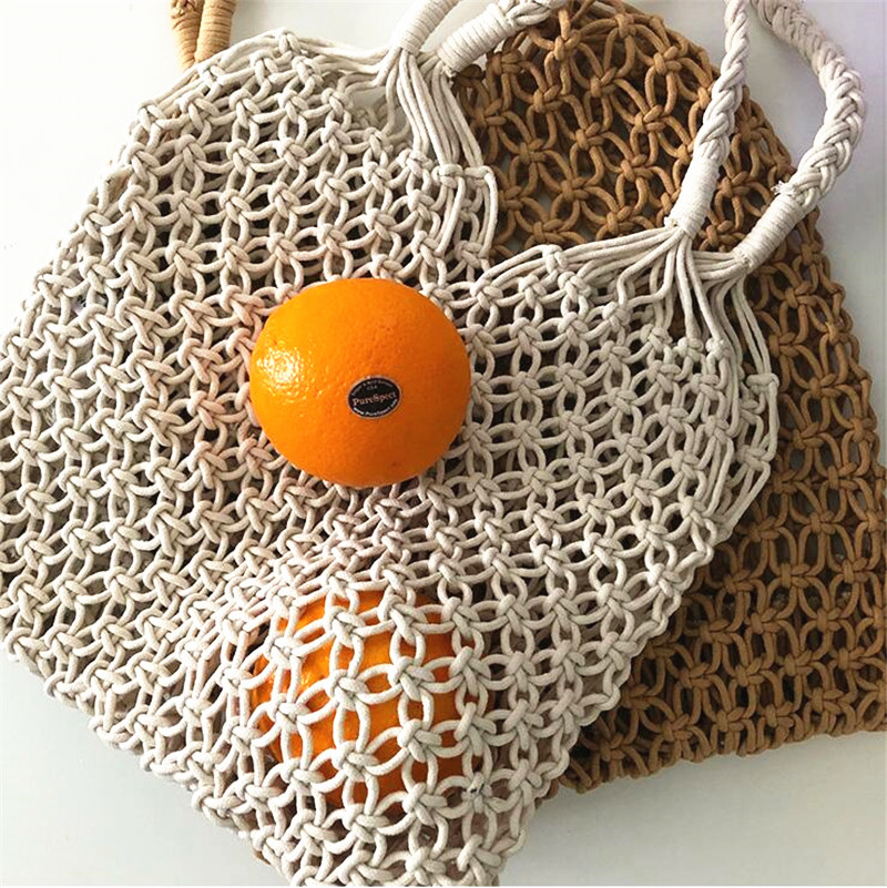 Straw Shopper Bag, Fashion Straw Travel Bag for Summer 2021