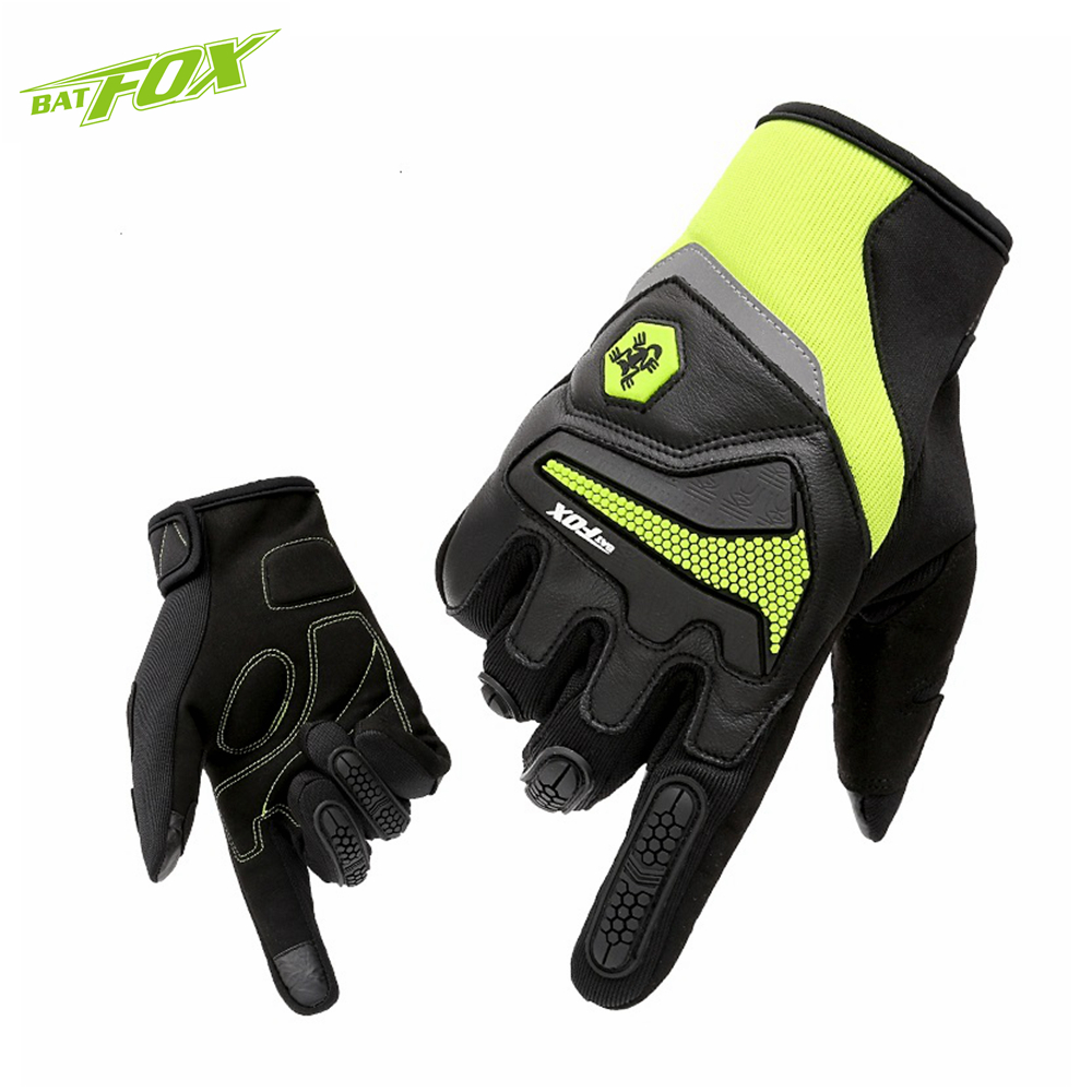 BATFOX Winter Cycling Full Finger Gloves Men MTB Bike Gloves Touch Screen Outdoor Sport Gloves Road Bicycle Glove Luvas Ciclismo