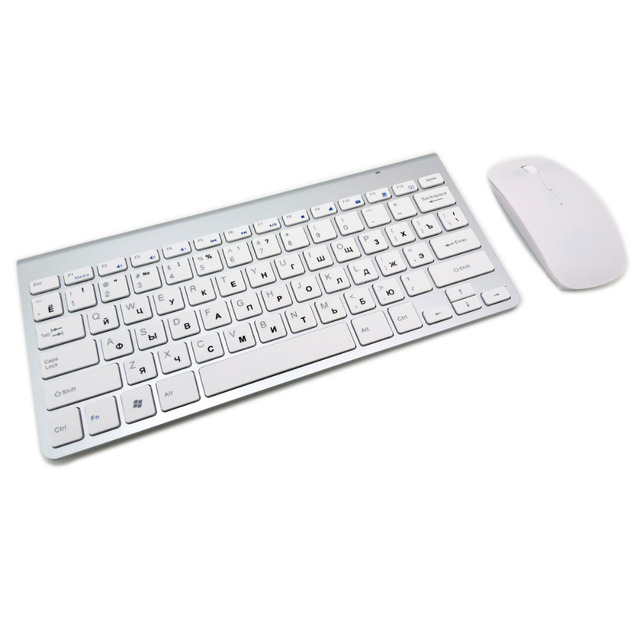 Ultra-Thin Wireless Keyboard Mouse Combo  2
