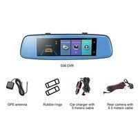 1080 P Мини Wi Fi автомобиля 7,84 дюймов камера DVR видеорегистратор регистраторы мониторы Ночное Видение Угол обзора 140
