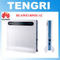 Original unlocked Huawei B593 B593U-12 100Mbps 4G LTE FDD CPE wifi wireless Router hotspot with sim card slot