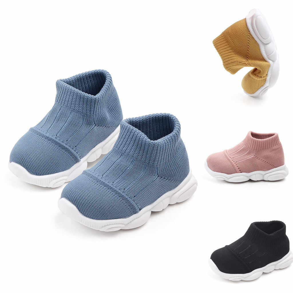 Toddler Infant Kids Baby Girls Boys shoes Striped Mesh Sport Run Sneakers Casual Sho toddler tennis shoes