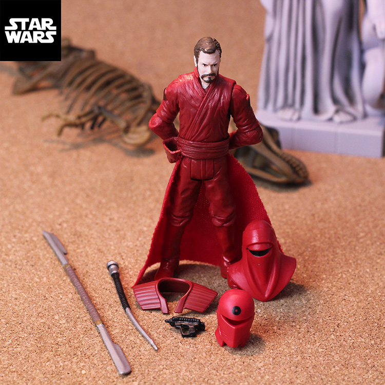 3.75'' action  figures Star Wars Jedi return Royal Guard Royal Red Guard collection model chirden toys star wars jedi academy