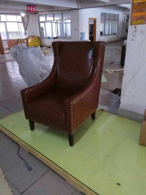 Terrific Us 499 0 Cow Real Genuine Leather Sofa Living Room Chair Home Furniture Modern American Country Style Leisure Chair Oil Wax Leather Chair In Living Dailytribune Chair Design For Home Dailytribuneorg