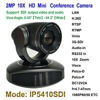 1/2. 8 Датчик изображения CMOS 1080 P hd ip видео Конференц камеры 10x оптический зум с 3G SDI Выход