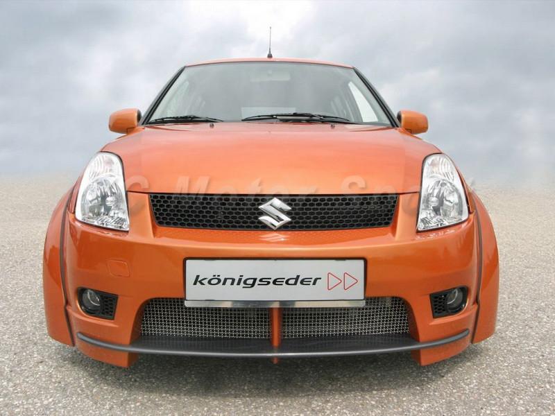 2004-2010 Suzuki SWIFT Königseder Style Wheel Flare Arch CF (6)