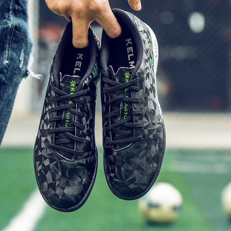b0e486430 KELME professional Soccer Shoes Men Sports Football Boots TF Turf Soles  Sneakers chuteira futebol Soccer Cleats