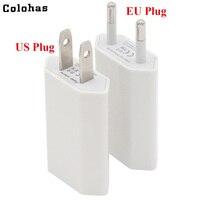 2000 шт./лот Высокое качество США Канада ЕС Мопс Сетевой USB Путешествие стены зарядки Зарядное устройство Адаптеры питания для iPhone 5 5S 4 4S 3gs 4 г