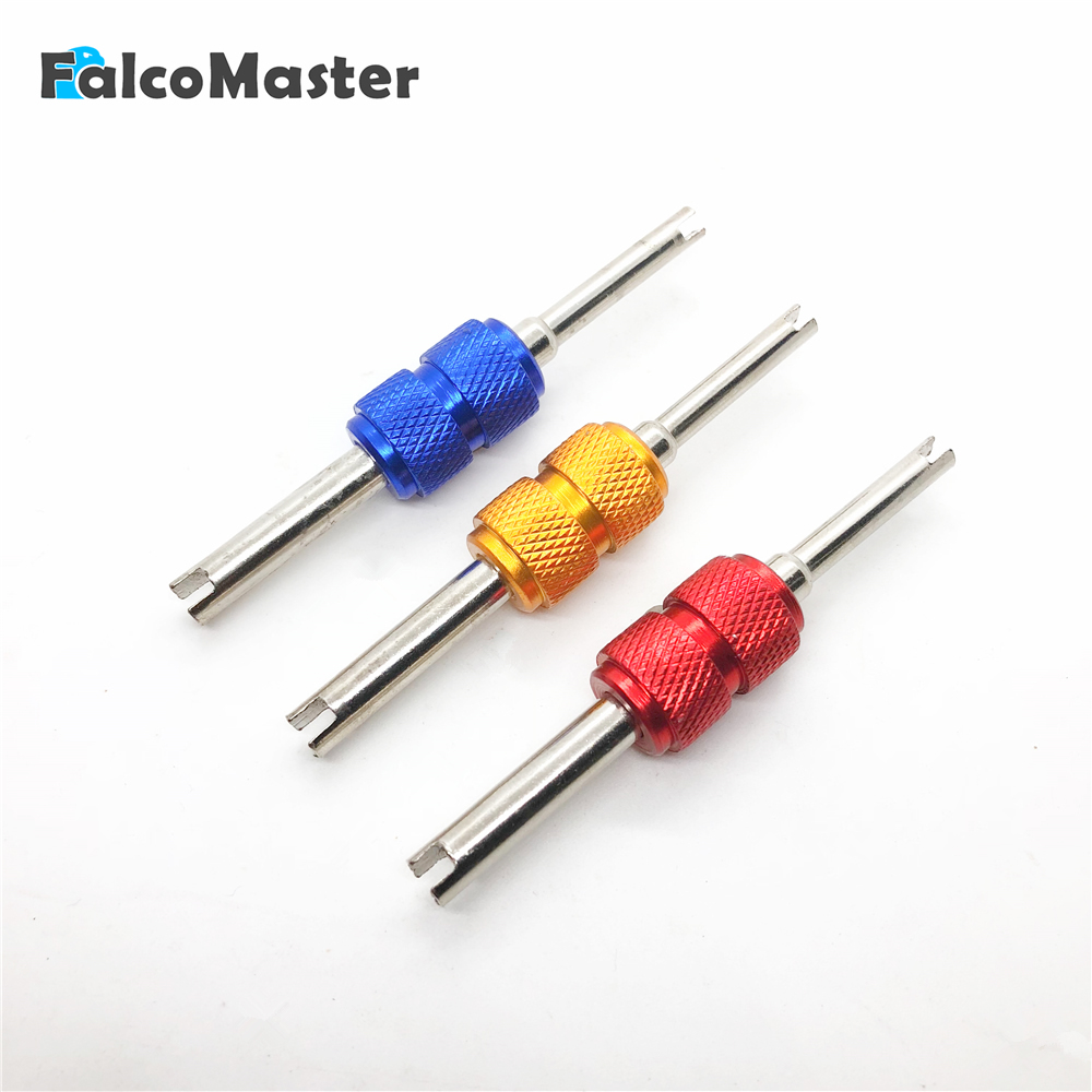 Universal Tire Valve Core Stems Remover Screwdriver Auto Truck Bicycle Wheel Repair Install Remove Tool Car Styling Dual Use