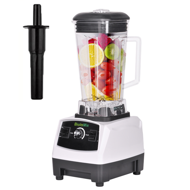 Eu/us/uk/au Plug Bpa Free 3hp 2200w Heavy Duty Professional Blender Mixer Juicer High Power Fruit Food Processor Ice Smoothie Blenders Kitchen Appliances