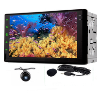 Rear Camera Full Touch Screen Mirroring Android 4 2 2 DIN Car Stereo Radio Tablet 7